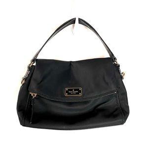 Kate Spade Little Minka Black Nylon Mini Bag